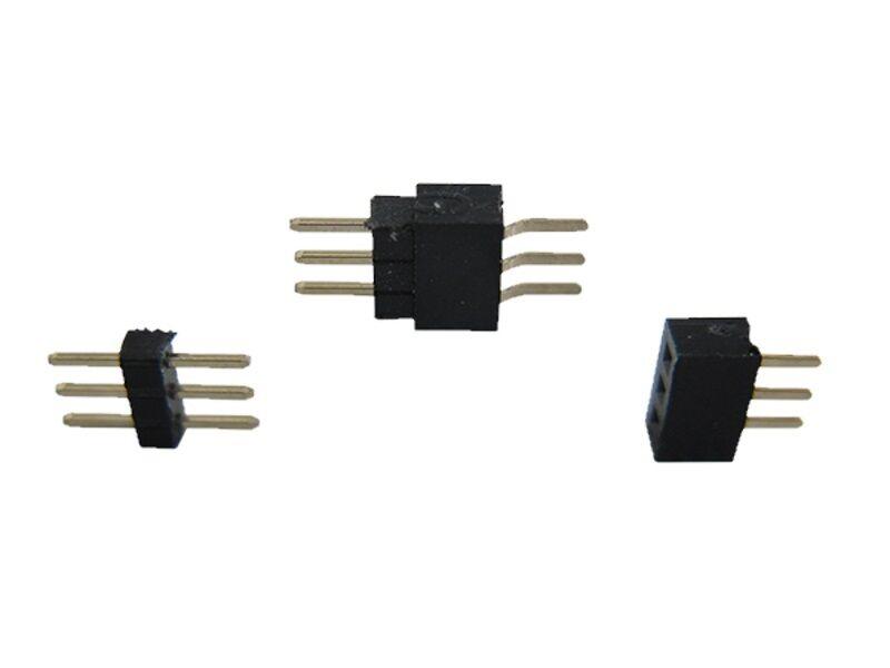 S483 - 10-pc Micro Embase de Connecteurs RM 1.0 3 pôles + Douille