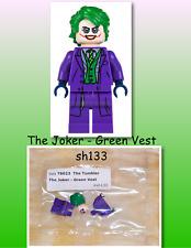 Lego Super Heroes Minifigure Bright Green Torso Riddler  #SH23