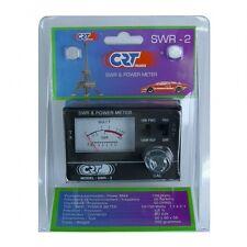 CB RADIO ANTENNA SWR POWER METER CRT SWR 2 10/100W 50 OHMS FREQUENCY 26-27 mHz