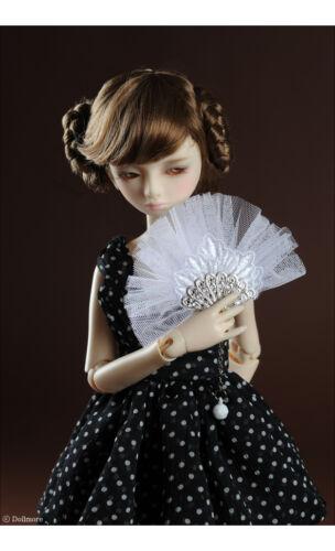 Dollmore 1//4 BJD doll accessory  MSD /& SD White Spps Fan