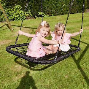 Rebo-UFO-Bird-Nest-Rectangular-Replacement-Swing-Seat