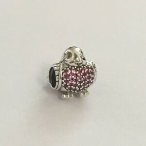96a24ce95 Image is loading New-Genuine-Pandora-RED-ROBIN-Charm-791731CZR-Love-