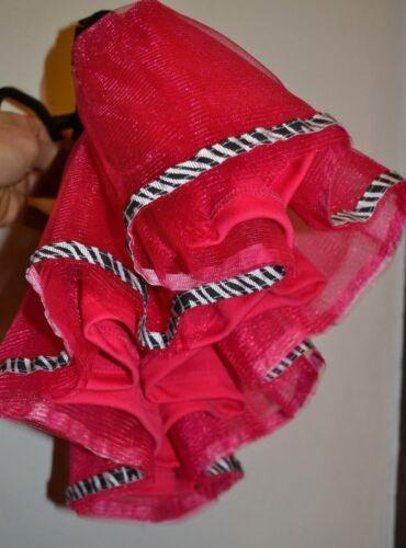 Spencer/'s Baby Pink Tutu Skirt with Zebra Print Trim 0-6Mon 6-12 Mon or 12-18Mon