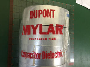Details about DUPONT Mylar Polyester Film Capacitor Dielectric Tape 40C  1375ft 1 ROLL 2