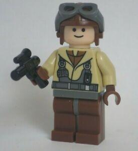 Lego Naboo Fighter Pilot 7660 Tan Jacket Star Wars Minifigure
