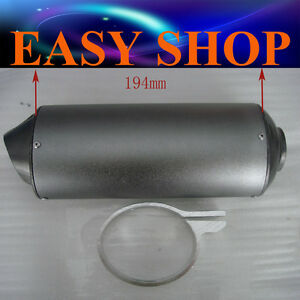 28mm-Muffler-Exhaust-Pipe-Clamp-50cc-110cc-125cc-150-PIT-PRO-Quad-Bike-Dirt-ATV