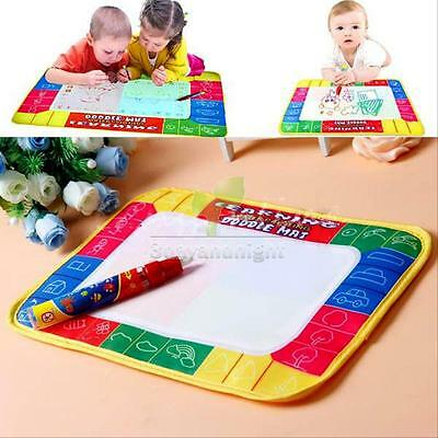 New Water Writing Painting Drawing Mat Board with Magic Pen Doodle Kids Game toy