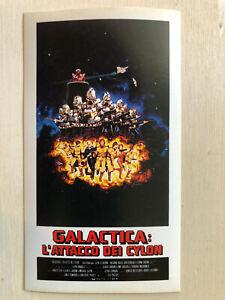Poster Plakat Aufkleber Sticker 1979 Galactica L'atacco D Cylon Mision Galactica Filme & Dvds Aufkleber & Sticker