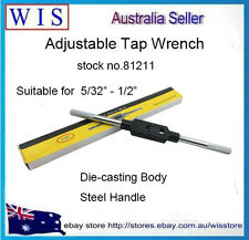 """5//32-3//4/"""" //1.5-12mm Capacity T handle tap wrench holder metric Imperial Tool"""