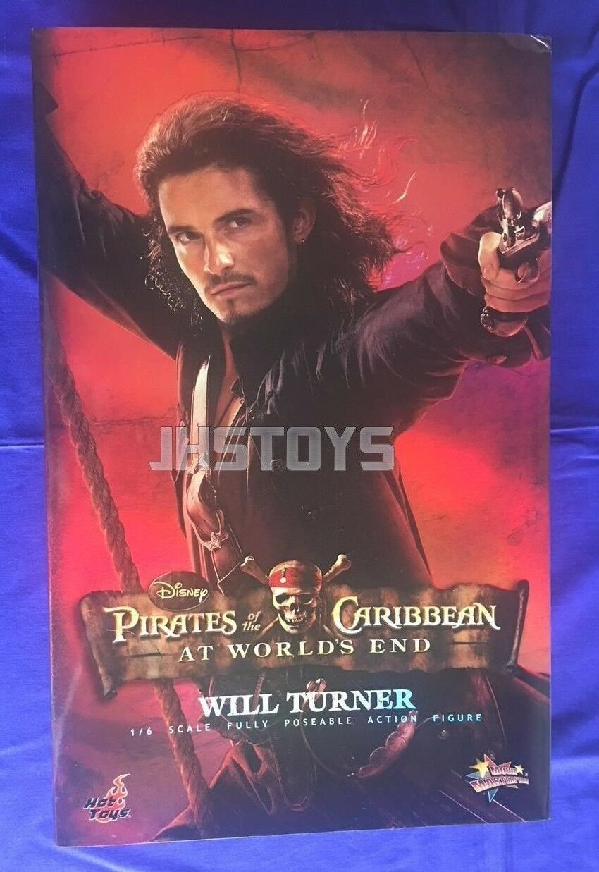 Hot Hot Hot Toys 1/6 Pirates of the Caribbean At Worlds End Will Turner MMS56 d9e105