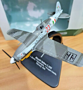 Macchi-Veltro-C-205-1-Gruppo-Caccia-1944-Scala-1-72-Die-Cast-Oxford-Aviation