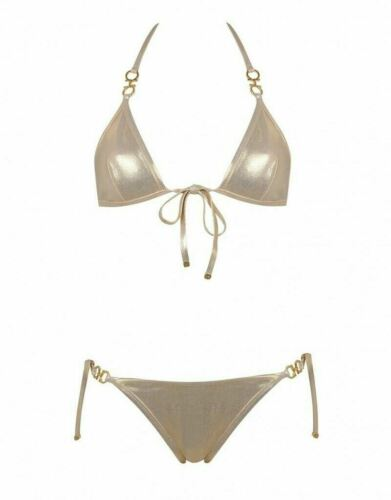 Agent Provocateur gold BNWT various sizes Brontie Bikini Set