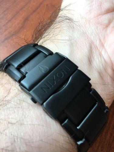 Matte Tangent 47mm Watch Surplus Nixon Black 8wy0OvmNn