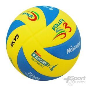Dettagli su Pallone Mini Volley Mikasa SKV5S3