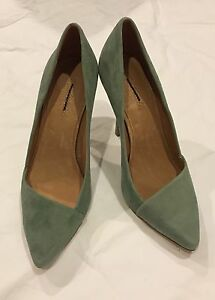 Madewell The Mira Heels Size 8.5 Suede