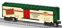 O Scale Reefer Car - Partridge In A Pear Tree 36170 - Lionel 6-36170