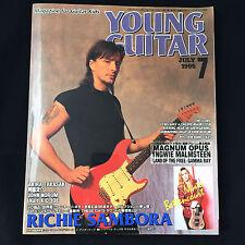 Young Guitar Magazine July 1995 Japan / Richie Sambora Nuno Bettencourt Yngwie