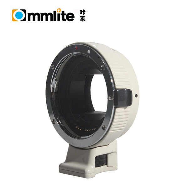 Commlite Electronic Auto AF Adapter Canon EOS EF Lens to Sony NEX A7M2 A7R white