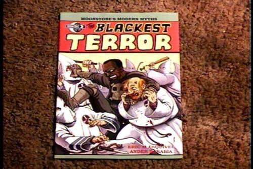 BLACKEST TERROR #1 COMIC BOOK VF//NM