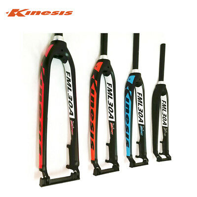 "Kinesis 26/"" 27.5/"" 29/"" MTB Bike Rigid Tapered Fork 1 1//8/"" to 1 1//2/"" Disc Brake"