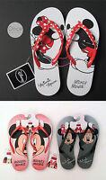 Primark Official Disney Mickey Or Minnie Mouse Ladies Flip Flops Thongs Sandals