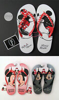 Primark Official Disney Mickey Or Minnie Mouse Ladies Flip Flops Thongs Sandals
