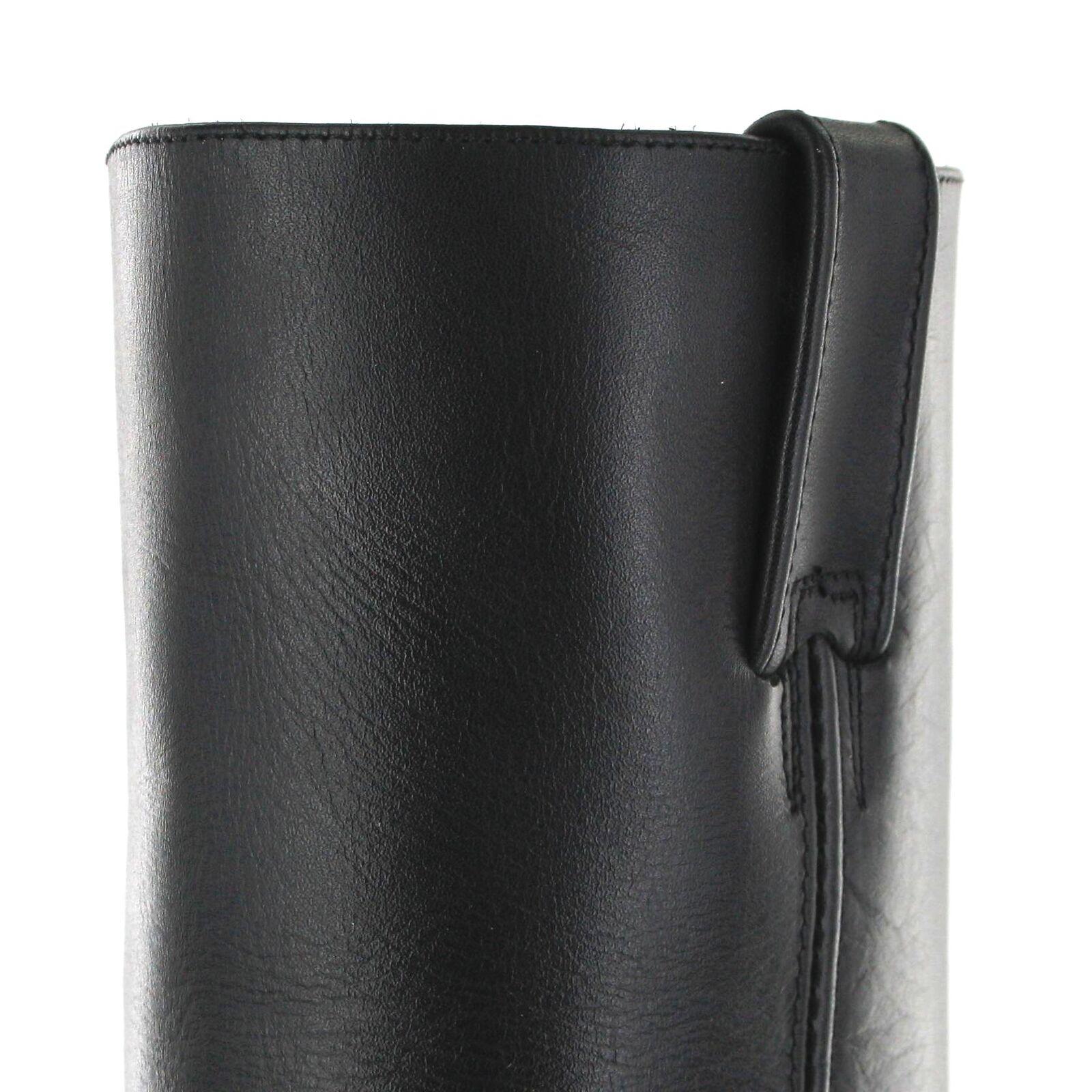 Prime stivali 44330 nero Stivali di pelle per signore signore signore e signori Nero Biker Stivali | Più pratico  | Scolaro/Signora Scarpa  7c825c