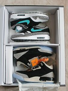 246dc5bac8f3 Nike Air Max 1 Retro Atmos Elephant   Jordan 3 Safari Pack 923098 ...
