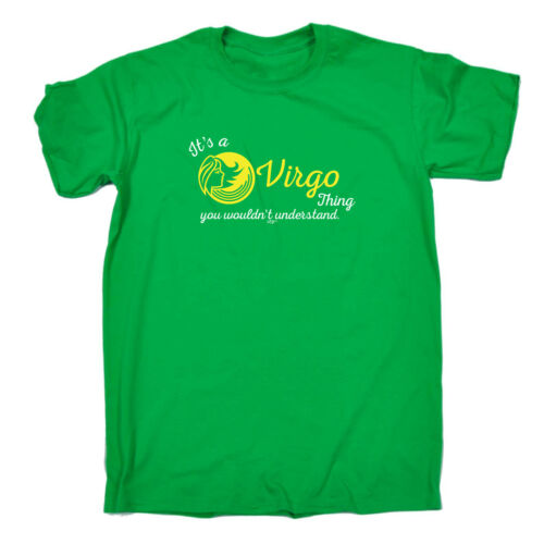 FUNNY Bambini T-Shirt Tee T-Shirt-Segno zodiacale la sua una VIRGO cosa che si