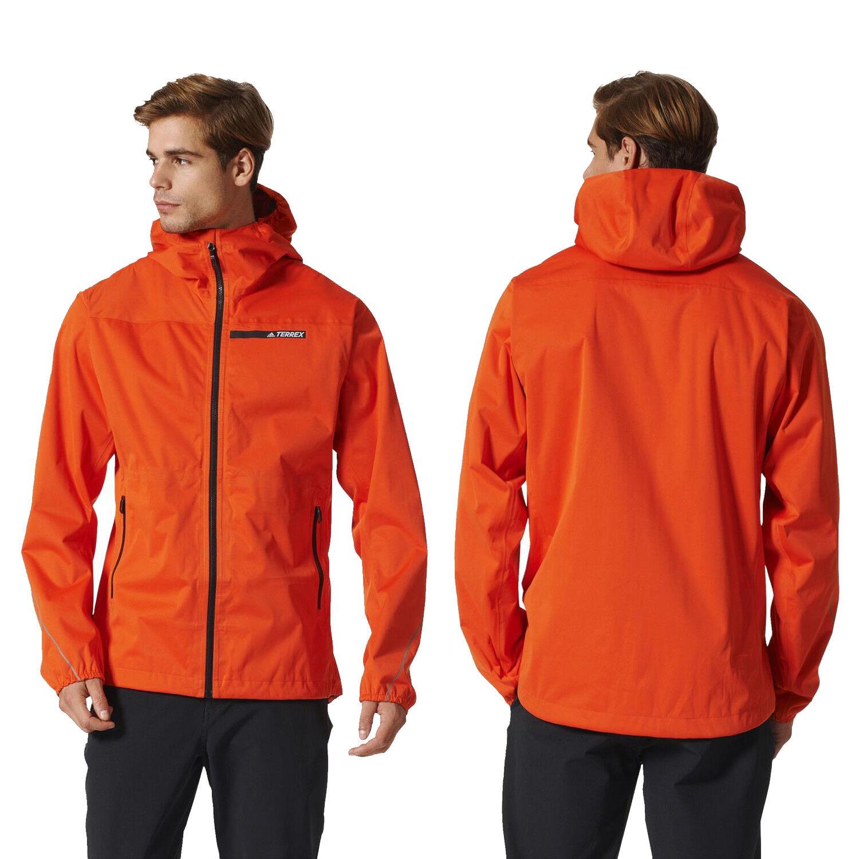 adidas Terrex GTX Active Shell Mens Jacket Orange : www