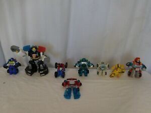 Transformers Lot Megatron, Optimus  small and large