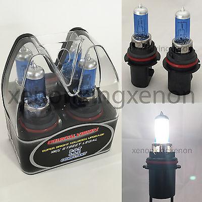 M-Box 9004-HB1 White 65//45W Halogen 5000K Headlight Light Bulb #c1 High//Low Beam