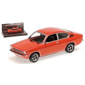 Minichamps 436045620 - Échelle 1/43 Opel Kadett Coupe Frankfurt 1973 4012138117198