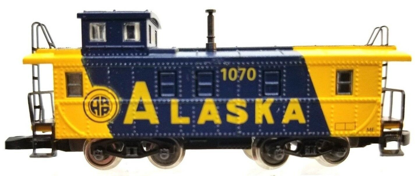 Z Scale Marklin Mini-Club 8686 Alaska Caboose ARR 1070  No Box