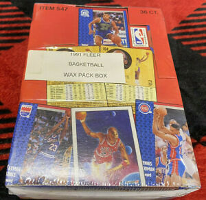 1991-92-FLEER-NBA-BASKETBALL-SEALED-UNOPENED-WAX-BOX-36-PACKS-MICHAEL-JORDAN-PSA