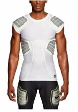 Mens NIKE Pro Combat Hyperstrong 3.0 Compression 4 Pad Football Shirt ,XXL