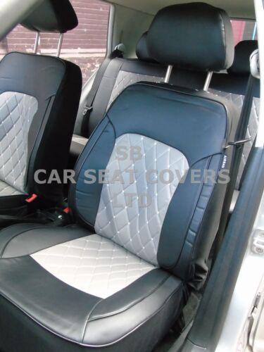 Passend Für Dodge Caliber Auto,Sitzbezüge,Rossini Diamant-Grau,Komplettset I