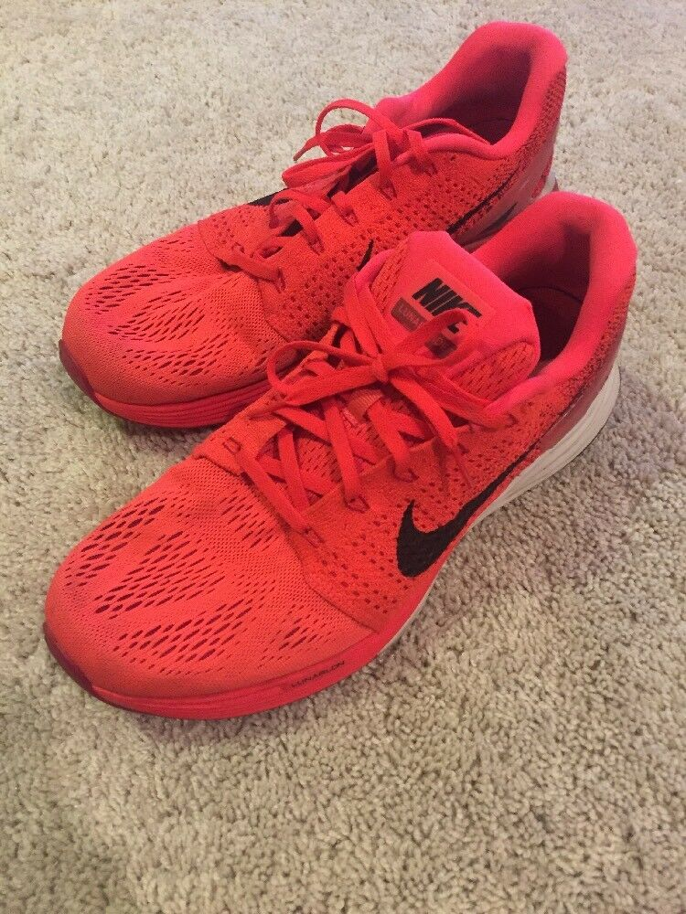 used mens nike lunar glide 7 shoes size 10.5