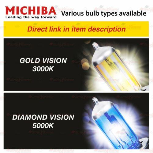 2x MICHIBA Scheinwerfer Lampen 3000K GELB 5000K Weiss H1 H3 H4 H7 H8 H11 HB3 HB4