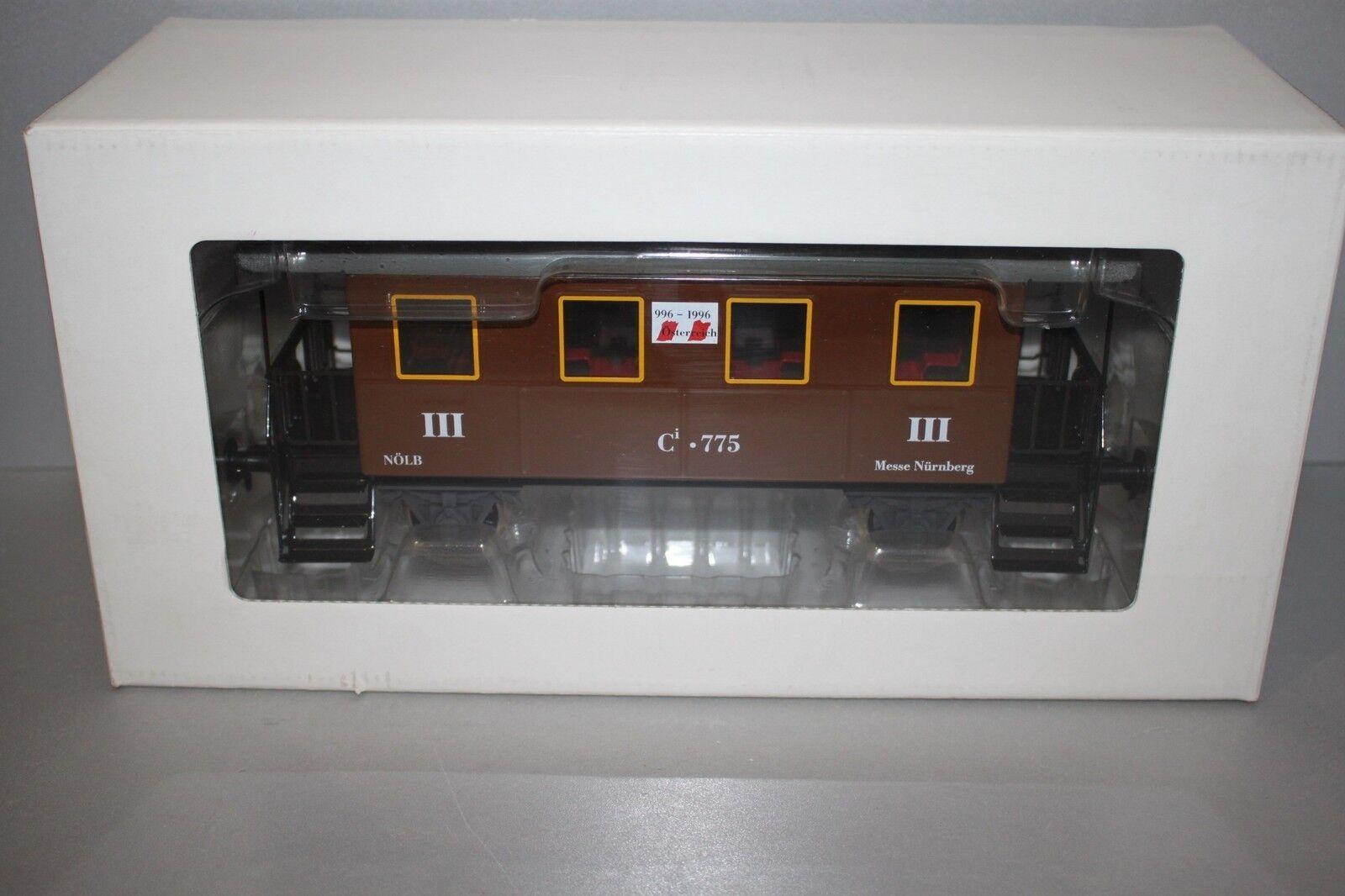 Märklin 2-Achser Personenwagen 3.Klasse Ci 775 Messe Nürnberg braun Spur 1 OVP  | Jeder beschriebene Artikel ist verfügbar