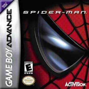 Spiderman-Game-Boy-Advance-Game-Used