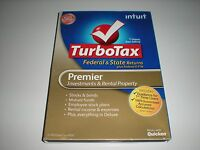 Turbotax 2012 Premier W/ State. Ugly Box. Sealed Blemished Box.