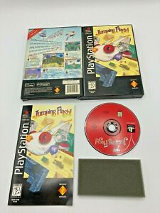 Sony-PlayStation-1-PS1-CIB-Tested-Long-Box-Jumping-Flash-Ships-Fast