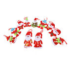Pop Christmas Santa Claus Ornaments Xmas Tree Hanging Decoration Festival Home