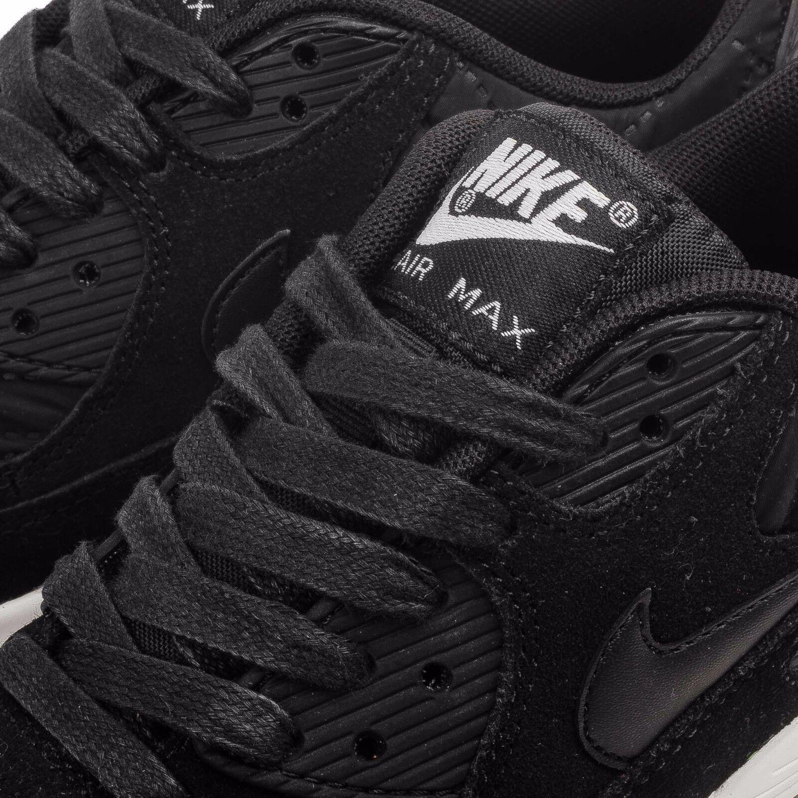 Nike Air Max 90 Premium    black black ivory 443817-009 Wmn Sz 9 413b4c