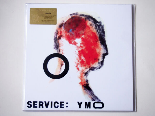 YELLOW MAGIC ORCHESTRA - Service Transparent Clear 180g Vinyl LP | YMO Japan NEW