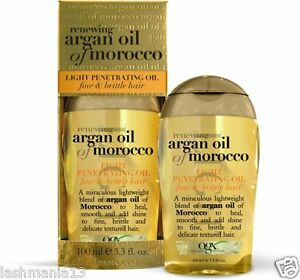 Organix Renewing Argan Oil Of Morocco Light Penetrating