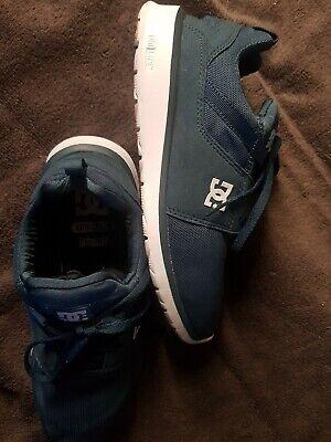 DC Shoes Mens 7.5 Navy Blue Heathrow