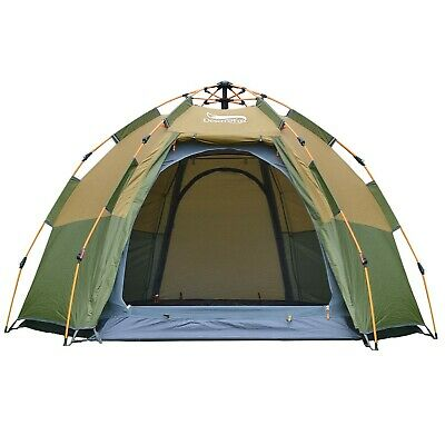 DESERT & FOX Pop up Dome Tent, 3 4 Person Outdoor Automatic Instant Setup Fam | eBay