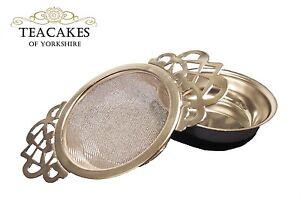 Colino per il Tè in Acciaio Inox Setaccio infus. IMPERATRICE stile tradizionale Ciotola a goccia  </span>